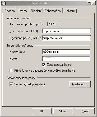 Outlook - nastavení emailového účtu 1
